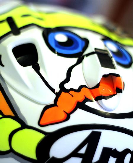 Valentino Rossi Winter 2016 adattamento replica