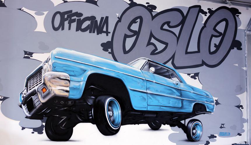 Murales Spray Graffiti Art Custom Car