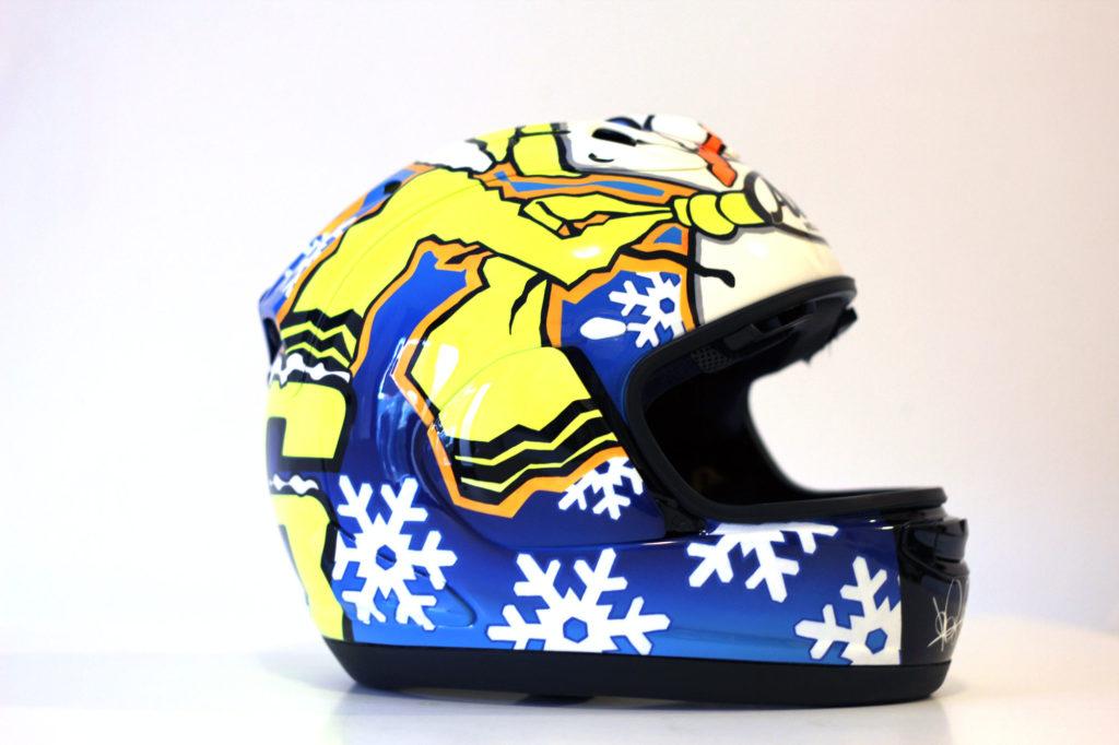 Jet Privato Valentino Rossi : Winter valentino rossi casco
